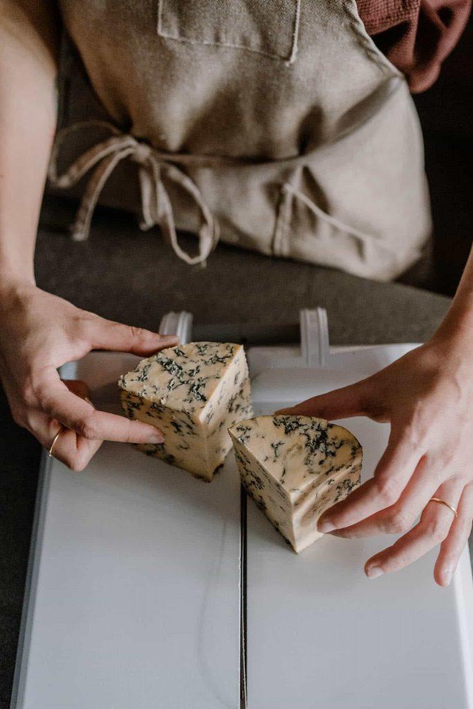 Como hacer un maridaje con queso azul